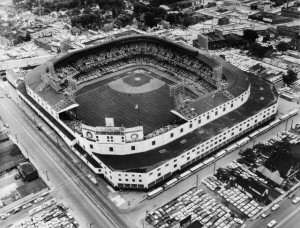 View of Tiger Stadium